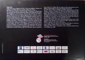 Verso de (AUT) Pratt, Hugo (en italien) -Cat- Wheeling - Il sentiero delle amicizie perdute - Omaggio a Hugo Pratt - Acquarelli e tavole originali