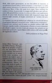 Verso de (AUT) Pratt, Hugo (en italien) - Il Cacciatore Nero