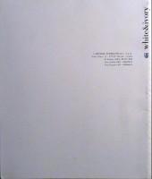 Verso de (AUT) Pratt, Hugo (en italien) -TL- White & ivory