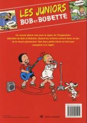 Verso de Bob et Bobette (Les Juniors) -5- On joue !