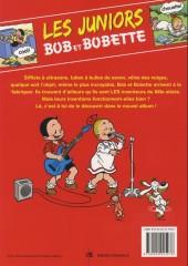 Verso de Bob et Bobette (Les Juniors) -7- Eureka !
