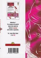 Verso de Monster (Urasawa) -6- La forêt des secrets