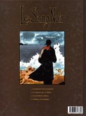Verso de Le sang noir -4- L'Ombre du Parjure