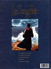 Verso de Le sang noir -3- Les Hommes Libres