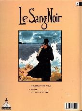 Verso de Le sang noir -1- Le Parfum Des Illusions