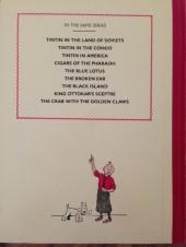 Verso de Tintin (The Adventures of) -3FS- Tintin in America