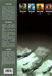 Verso de Lignes de front (Pécau) -2- Le Vol de l'aigle