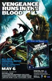 Verso de Batman Eternal (2014)  -4- Issue 4