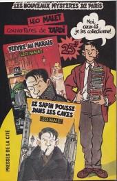 Verso de (AS) Comics -4136- Nestor Burma - Une gueule de bois en plomb (2/3)