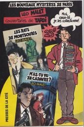 Verso de (AS) Comics -5137- Nestor Burma - Une gueule de bois en plomb (3/3)