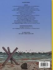 Verso de Lefranc (Les voyages de/Les reportages de) -5- Le débarquement