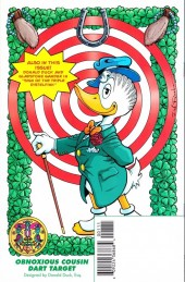 Verso de Free Comic Book Day 2014 - Uncle $crooge and Donald Duck - A matter of some gravity