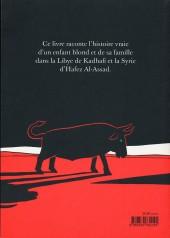 Verso de L'arabe du futur -1- Une jeunesse au Moyen-Orient (1978-1984)