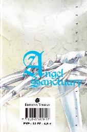 Verso de Angel Sanctuary -10- Volume 10