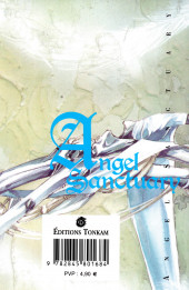 Verso de Angel Sanctuary -11- Volume 11