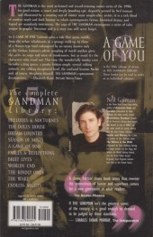 Verso de Sandman (The) (1989) -INT05b- A game of you