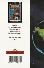 Verso de Capitaine Albator - Le pirate de l'espace -2- Captain Harlock (n°02)