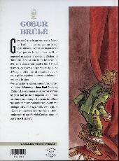 Verso de Cœur Brûlé -7- Le comte de Saint-Germain