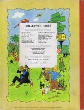 Verso de Tintin (Historique) -20B31- Tintin au Tibet