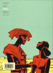 Verso de Les scorpions du Désert (Nouvelle édition) -3- Un fortin en Dancalie