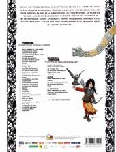 Verso de Thorgal (Les mondes de) - Louve -148hBD- Raïssa