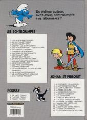 Verso de Johan et Pirlouit -9c2004- La flûte à six schtroumpfs