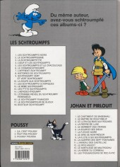 Verso de Johan et Pirlouit -7f- La flèche noire