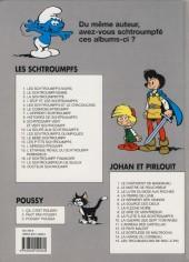 Verso de Johan et Pirlouit -4g- La pierre de lune