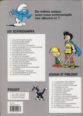 Verso de Johan et Pirlouit -3d01- Le lutin du bois aux roches