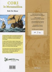 Verso de Cori le Moussaillon -1TL2- Sous le drapeau de la compagnie