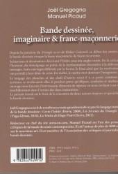 Verso de (DOC) Études et essais divers - Bande dessinée, imaginaire & franc-maçonnerie