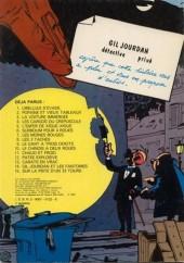 Verso de Gil Jourdan -7a1981- Les moines rouges