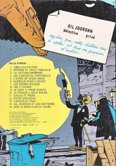 Verso de Gil Jourdan -12b81- Pâtée explosive