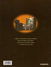 Verso de Inspecteur Moroni -1- Premiers pas