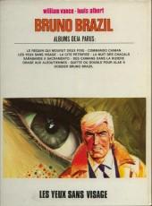 Verso de Bruno Brazil -3b1978- Les yeux sans visage