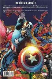 Verso de Captain America (Marvel Deluxe) -HS- Captain America Reborn - Renaissance