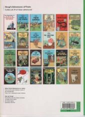 Verso de Tintin (The Adventures of) -17b04- Explorers on the Moon