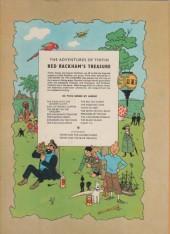 Verso de Tintin (The Adventures of) -12a1971- Red Rackham's Treasure