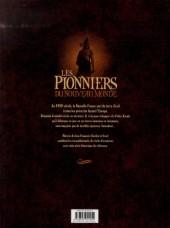 Verso de Les pionniers du Nouveau Monde -INT2- L'intégrale - Tomes 5 à 8