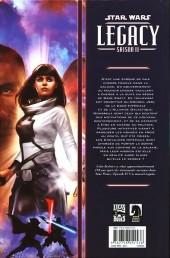 Verso de Star Wars - Legacy - Saison II -2- La voie de la liberté