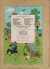 Verso de Tintin (Historique) -6b37- L'Oreille Cassée