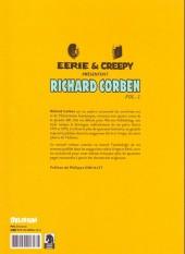 Verso de Eerie et Creepy présentent Richard Corben -2- Volume 2
