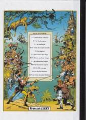 Verso de Les fils de l'aventure -6- Tome 9 et tome 10