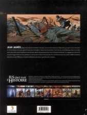 Verso de Ils ont fait l'Histoire -4- Jaurès