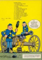 Verso de Les tuniques Bleues -2c80- Du nord au sud