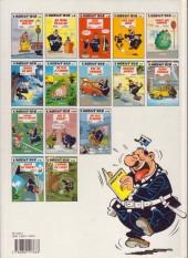 Verso de L'agent 212 -12a1993- Ris, Ô poulet