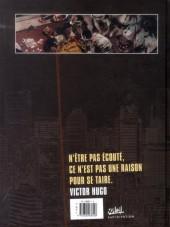 Verso de Zombies Néchronologies -1- Les Misérables