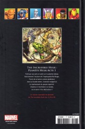 Verso de Marvel Comics - La collection (Hachette) -718- The Incredible Hulk - Planète Hulk acte 1