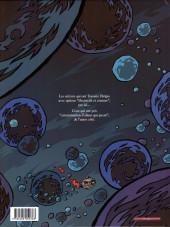 Verso de Les cosmonautes du futur -2- Le retour
