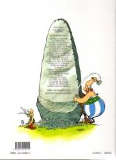 Verso de Astérix (Hachette) -1a2000- Astérix le Gaulois